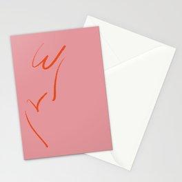 Original W&V in pink Stationery Cards