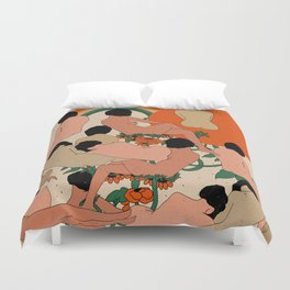 Got Your Back Duvet Cover