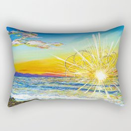 Beauty In The Sky Rectangular Pillow