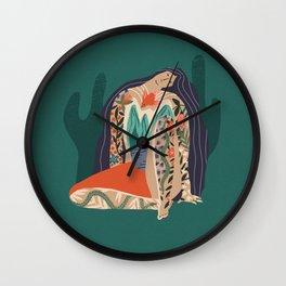 Madre Tierra Wall Clock