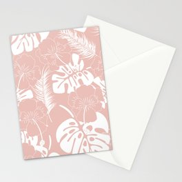 Tropical pattern 020 Stationery Cards