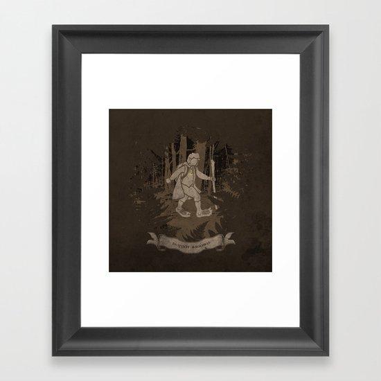 Bigfoot Baggins Framed Art Print