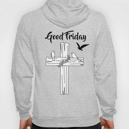 Cross With Bird Hoody