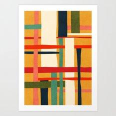 Variation of a theme Art Print