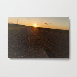 Country Road 5 Metal Print