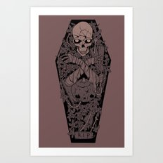 Ashes to ashes. Dust to dust. Art Print