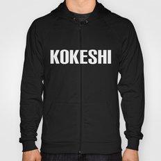 KOKESHI FONT WHITE Hoody