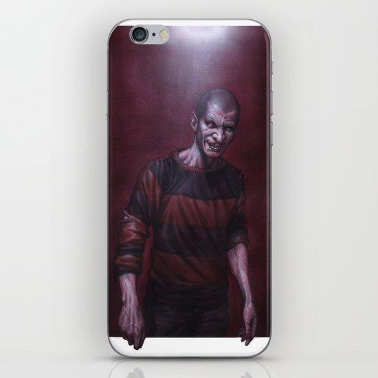 Jeffrey Darkside iPhone & iPod Skin
