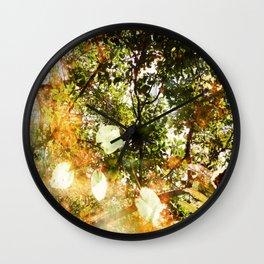 Muddled Wall Clock