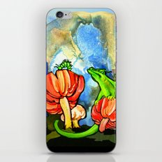 The Dragon and the Caterpillar iPhone & iPod Skin