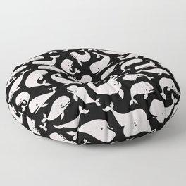 Moby Dick - Black Pearl Floor Pillow