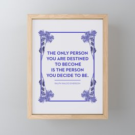 Destined Framed Mini Art Print