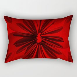 Red Origami Flowers #decor #society6 Rectangular Pillow