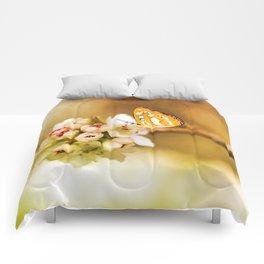 Blooms and Butterflies Comforters