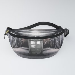 Tardis And The Old Steel Fanny Pack