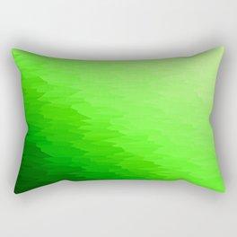 Green Texture Ombre Rectangular Pillow
