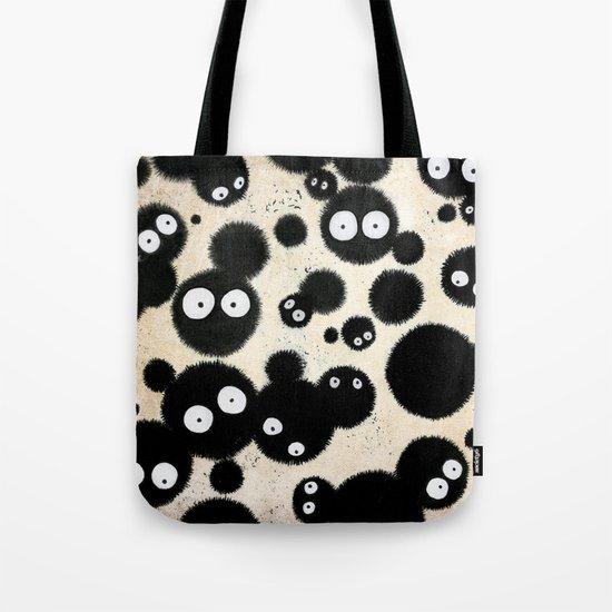 Cute Susuwatari Infestation Tote Bag