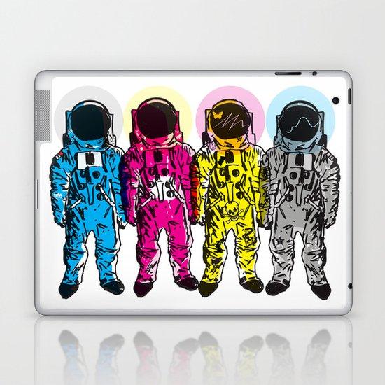 CMYK Spacemen Laptop & iPad Skin