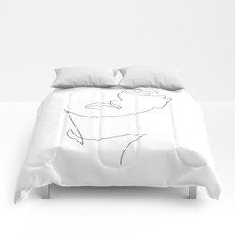 Triple Face Line Comforters