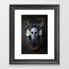 Winter Muertita Front Framed Art Print