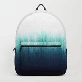 Teal Ombré Backpack
