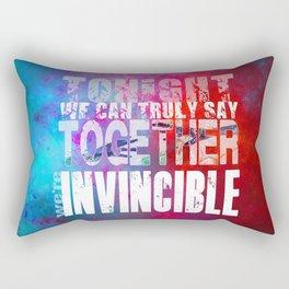muse invincible Rectangular Pillow