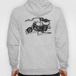 Biker Maid Hoody