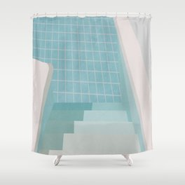 Pool Shower Curtains | Society6