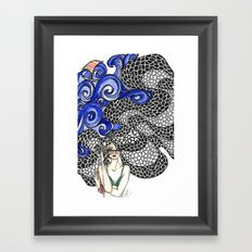 Copacabana Girl Framed Art Print