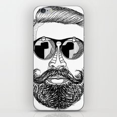 MENSUNGLASSES iPhone & iPod Skin