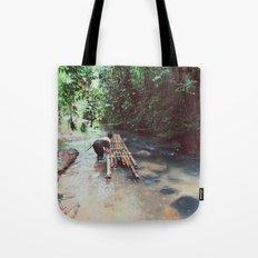 Borneo river rafting Tote Bag