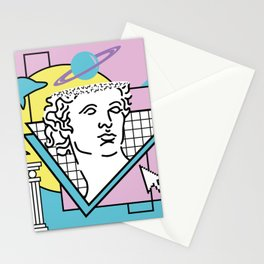 Apollo - Vaporwave - 80s Stationery Cards