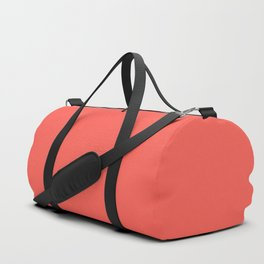 From The Crayon Box – Sunset Orange - Bright Orange Solid Color Duffle Bag