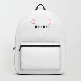 Piano Keyboards Musician Grand Piano Player Gift Backpack