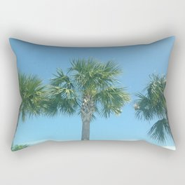 Three Palm Trees or Whatever Fits on the Product You Like Rectangular Pillow