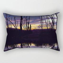 Fall Sunset in Northern Ontario Rectangular Pillow