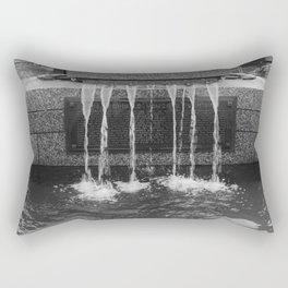 Fountain Water Rectangular Pillow