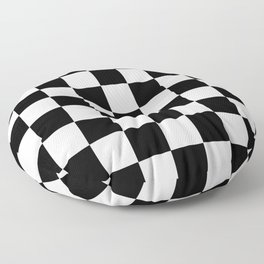 Checkerboard Floor Pillow