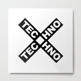 Techno Metal Print