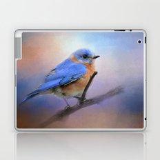 The Happiest Blue - Bluebird Laptop & iPad Skin