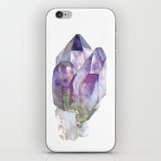 Amethyst Cluster iPhone & iPod Skin