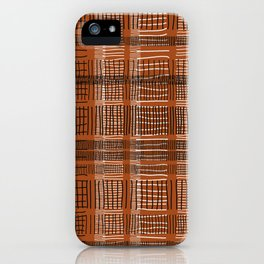 Sonia in saddle brown iPhone Case
