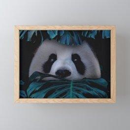 Panda Hidden Framed Mini Art Print