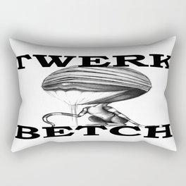 TWERK BETCH ! Rectangular Pillow