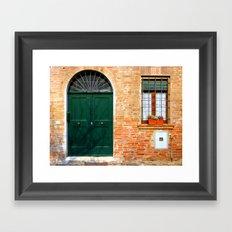Door Series (3) Framed Art Print