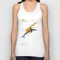 design Tank Tops featuring Onward! by Jay Fleck