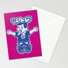 Totem: Mascot & Street Trooper (Navy Magenta) Stationery Cards