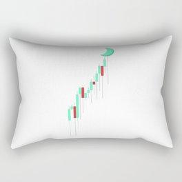 Candle to the MOON Rectangular Pillow
