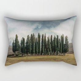 Trees of Tuscany Rectangular Pillow