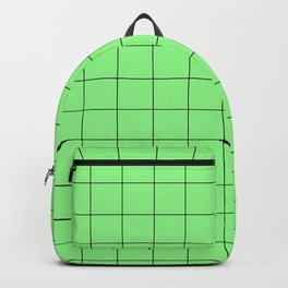 green squares - green texture Backpack